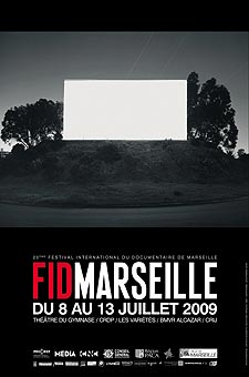 Poster for FID Marseille 2009, at which Kingston University's Phillip Warnell's film is the only UK entry to be selected for the international competition.