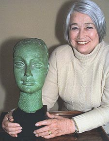 Dora Gordine immortalised the then 22-year-old Maren Friedman in bronze after a chance meeting at the American Women's Club in London.