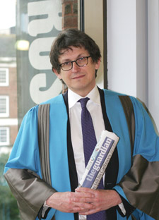 Guardian Editor Alan Rusbridger believes universities have an important role to play in debating and shaping the future of news.