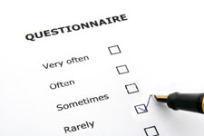 The questionnaire can help scientists pinpoint unusual behaviour.