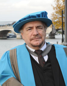 Brian Cox, who became an Honorary Doctor of Letters today, is currently working on a new series of radio plays for BBC Radio 4.