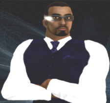 Dr Bryan Carter's avatar is 'Bryan Mnemonic'.