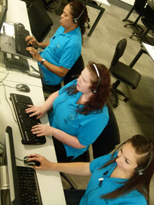 Kingston University's Clearing hotline operators have been dealing with a high volume of calls.