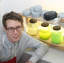 A glimpse of the future: James Shaw is preparing for a day when we'll all be eating algae (Product & Furniture Design).