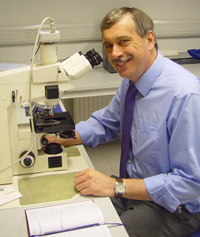 New Kingston University Deputy Vice-Chancellor, Dr David Mackintosh, worked on the first clinical trials of insulin, used for treating diabetics.