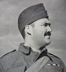 Eric Kennington in his Home Guards' uniform, 1941.