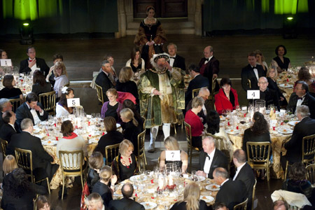 Delegates at the two-day national conference enjoyed a gala dinner presided over by a Henry VIII lookalike.