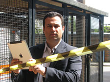 Dr Christos Politis said the design could be rolled out to emergency services within two years.