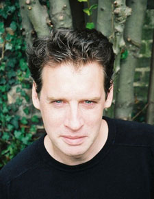 Alexander Masters said he found teaching gave him an insight into his own writing. (Photo by Andrew Grove)