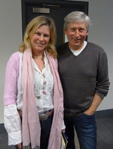 MA creative writing student Susan Saville said it was great to have the opportunity to meet the Hollywood producer.