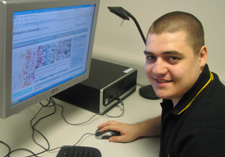 Patrick Magee is now enrolled on a Software Engineering Bsc (hons) after coming to the University as an HND student.