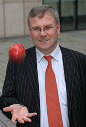 Professor Declan Naughton and his team have discovered a new use for pomegranate rind