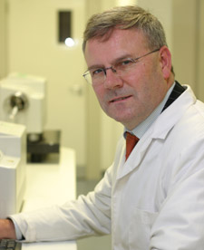 Professor Declan Naughton says the alert program can be used to monitor contaminated products.