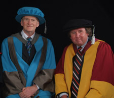 Ray Jones (right), a professor of social work based at Kingston University, said Mr Taylor had made a significant contribution to social services at a local, national and international level.