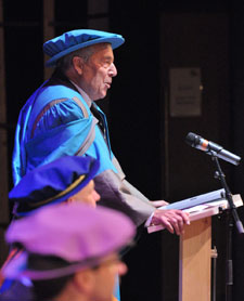 Sir Francis told the audience at Kingston's Rose Theatre that Britain's destiny lies in Europe.