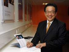 Tan Sri Dato' Francis Yeoh, one of Asia's leading business people, is behind the new post, having donated half a million pounds to the University.