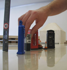 Kingston's architecture students have created miniature street furniture.