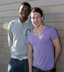 University students Roddy Cole and Jordan Gibbens said the improvements will help attract sporty students to Kingston.