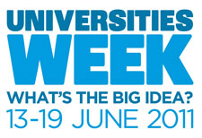 Universities Week 2011 launches on Monday June 13.