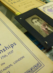 Vane Ivanovic's identity card is just one of many items to be found in the archive.
