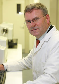 Lead researcher Professor Declan Naughton is based in Kingston University's School of Life Sciences.